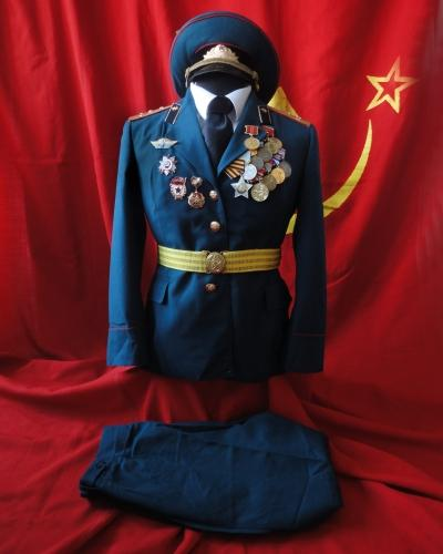 Soviet armed forces female parade and service uniforms