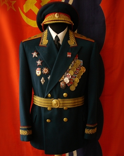 Soviet Lieutenant-General M1954 parade uniform